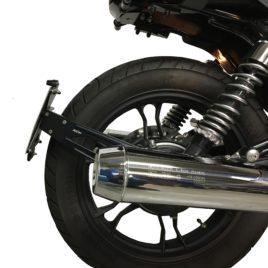 Portatarga monobraccio Moto Guzzi V7 I, II e III serie