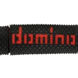 Domino manopole bicolore nero-rosso off road x-treme