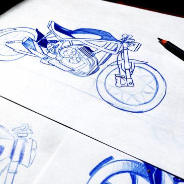 Design e realizzazione Accessori Moto KC34