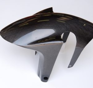 Parafango anteriore Aprilia rsv4 e tuono v4 in carbonio
