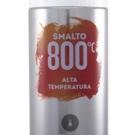 Vernicie spray per alte temperature Nero opaco