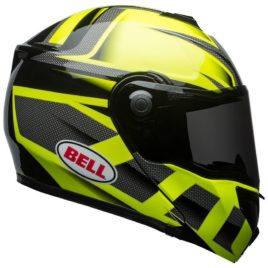 casco modulare Bell SRT Predator gialle nero