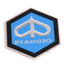 Scudetto adesivo Piaggio esagonale 31mm
