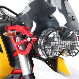 Griglia protezione faro Moto Guzzi V85TT
