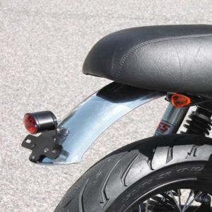Parafango posteriore in alluminio v7