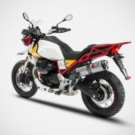 scarico Moto Guzzi V85tt Zard