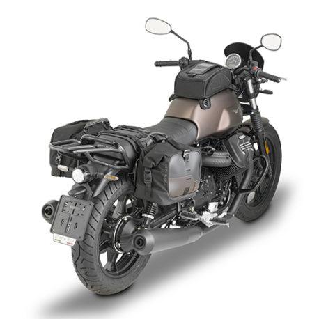 CRM106_mounted_pair Borsa laterale Givi Corium 13 litri