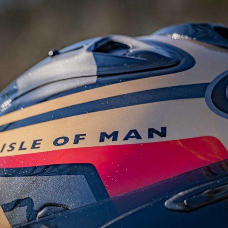 Isle of Man TT Arai Helmet